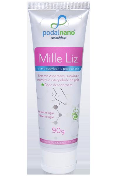 Mille Liz - Creme suavizante para os pés, elimina queratoses - Podal Nano Cosméticos