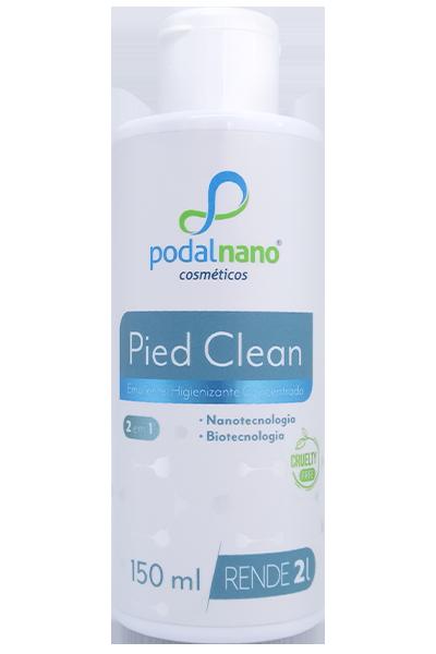 Pied Clean 2 em 1 - Higienizante concentrado - Podal Nano Cosméticos